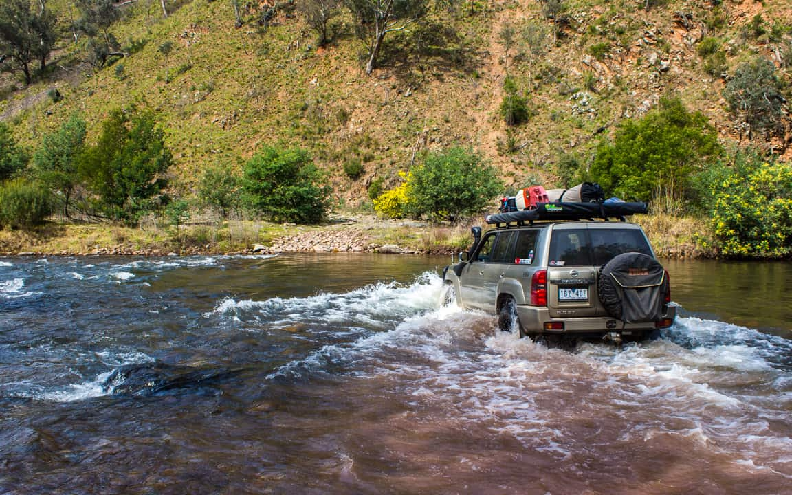 Water & River Crossings in your 4WD – 6 Tips and Tricks