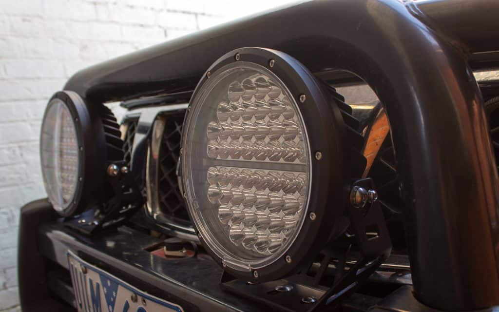"""BAP Offroad 9"""" LED Driving Lights - Install & Review - 4WD Addiction"""